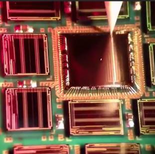 揭秘芯片制造工艺,内部采用金丝线焊接晶片