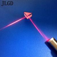 三角棱镜厂家供应玻璃棱镜 定制20mm反射镜光学镀膜镜片加工