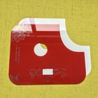 源头厂家玻璃加工  家具茶几电热壶触摸玻璃面板 丝印 精雕