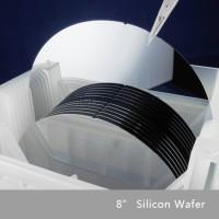 8英寸(200mm)电子级半导体单晶硅片