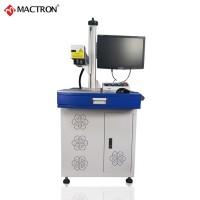 厂家直销光纤激光打标机 20w柜式激光打码机金属镭雕机