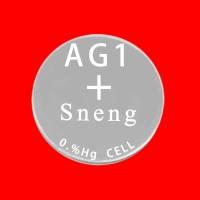 深圳深能碱性纽扣电池AG1 1.5V 16mAh
