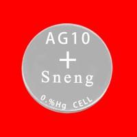 深圳深能碱性纽扣电池AG10 1.5V 70mAh