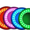 RGB彩色可调整环形光源