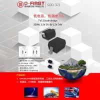保护器件的最佳选择—低电容TVS二极管3.3V-24V