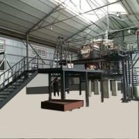 5吨微晶玻璃生产线