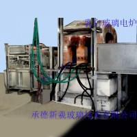 1吨乳浊玻璃电炉