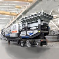 时产100吨的移动破碎机多少钱?