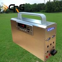 最新款家用发电照明系统10W带手电筒 储能电源 便携试太阳能系统
