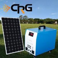 太阳能发电系统300W家用 户外太阳能发电照明系统