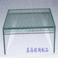 超白钢化移门玻璃 异形丝印玻璃深加工定制 AG玻璃