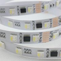 LED5050 DMX512防水幻彩灯条60灯一米