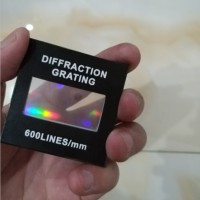 教学演示分光仪50线100线300线600线全息衍射光栅片