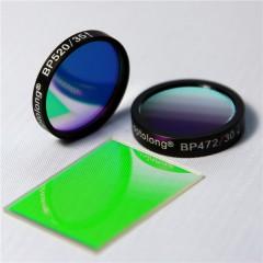 FITC荧光滤光片套装 滤光专业生产高精度镜片厂家