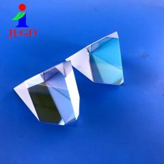 晶亮光电厂家加工屋脊棱镜半五棱镜 定制玻璃楔形片镜头镜片批发