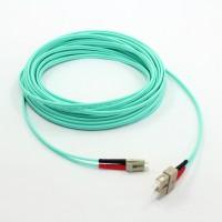 厂家批发LC-SC万兆多模双芯OM3光纤跳线2米光纤跳线