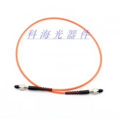 SMA-SMA多模光纤跳线金属插芯光纤线 SMA光纤跳线