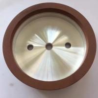 郑州荣奇磨具杯型树脂金刚石SDC砂轮加工陶瓷玻璃磨边机专用