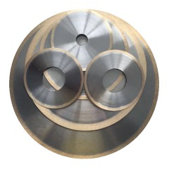 郑州荣奇磨具非标定制加工玻璃专用青铜烧结SDC切割片、锯片