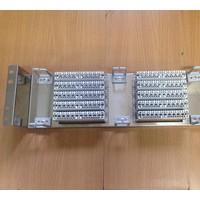 VDF-100线音频配线单元跳线架卡接式纯铜模块6个音频机架