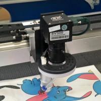 厂家直供摄像定位自动寻边织唛激光雕刻机