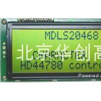 北京华创VP19264-SC-HTLED04黄绿底背光液晶屏