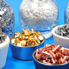 公司可供应PVD磁控溅射镀膜靶材种类贵金属靶材金片