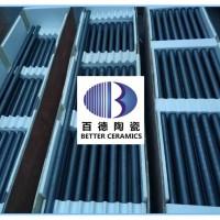 锂电材料烧结炉碳化硅辊棒SiSiC辊棒D40×27×2100