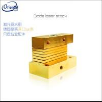 808激光器叠阵垂直叠阵水冷模块定制激光器功率