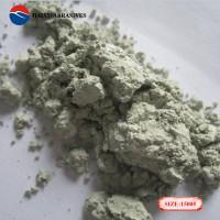 海旭磨料厂家直销 绿碳化硅微粉研磨介质