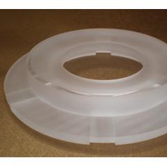 石英玻璃制品 石英玻璃真空吸盘 石英玻璃环形吸盘 定制加工