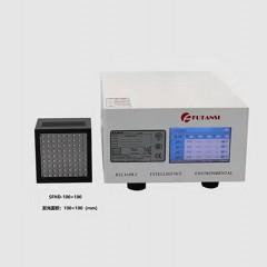 光学镜头医疗产品氧气罩工艺涂UV胶水用UVLED面光源固化