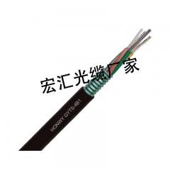 gyts层绞式钢带铠装室外单模光缆2至288芯